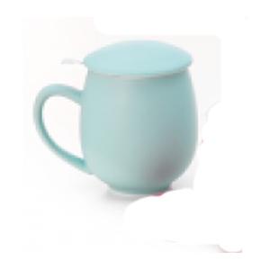 Theemok met filter blauw